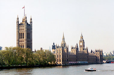 London. The Parliament | Лондон. Здания Парламента